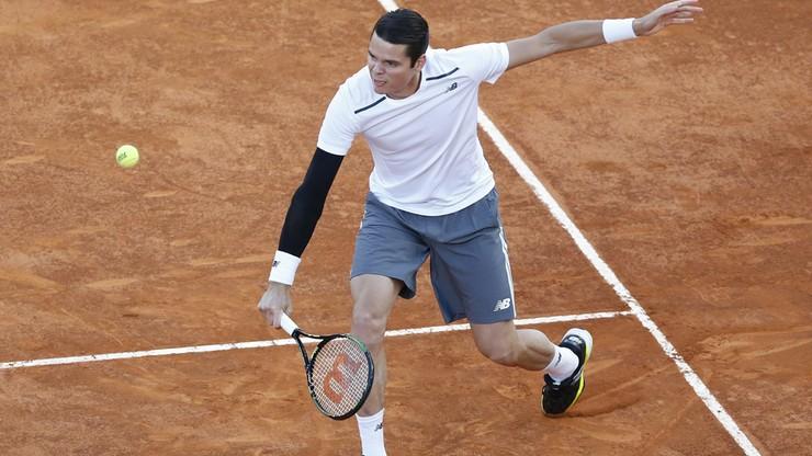 French Open bez Raonica. Nie zdążył się wyleczyć