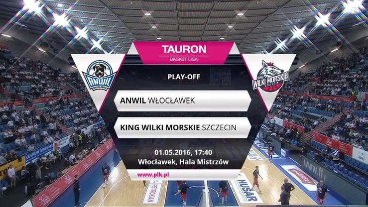 Anwil Włocławek - King Wilki Morskie Szczecin 68:50. Skrót meczu