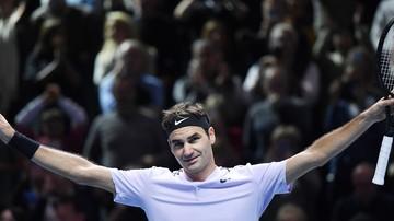 2017-11-16 ATP Finals: Kolejne zwycięstwo Federera