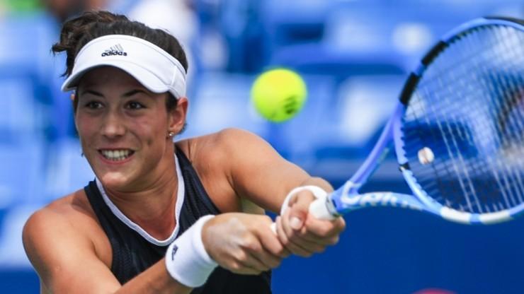 WTA w Pekinie: Muguruza skreczowała z powodu choroby
