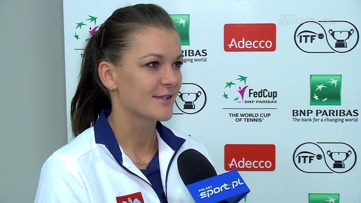 A. Radwańska: To był najlepszy tenis Marii
