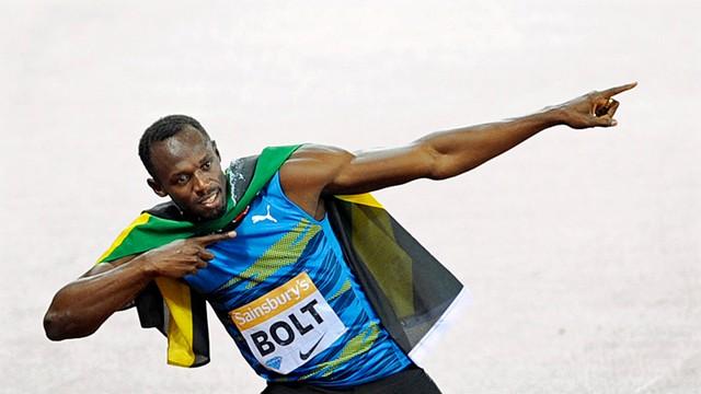Najszybszy człowiek świata Usain Bolt uwielbia szybkie samochody