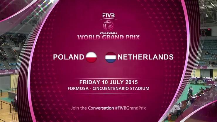 WGP: Polska - Holandia 0:3. Skrót meczu