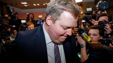 """07-04-2016 05:36 Dymisja premiera Islandii. Gunnlaugssona pogrążyły """"panama papers"""""""