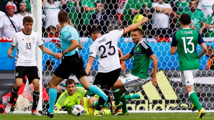 Irlandia Północna - Niemcy: Gomez napoczął Irlandczyków! (WIDEO)