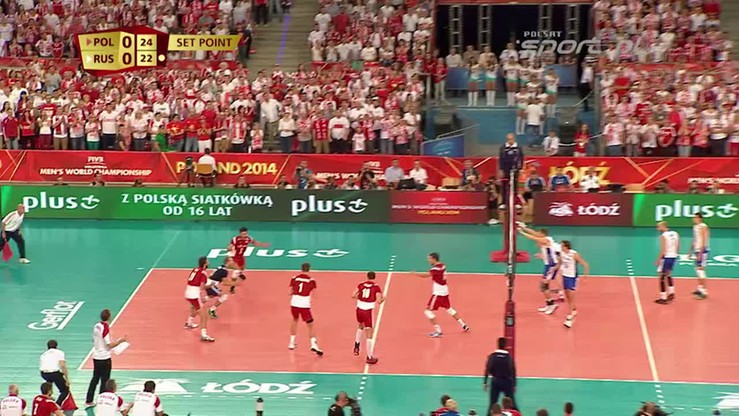 Polska - Rosja 3:2. Skrót meczu