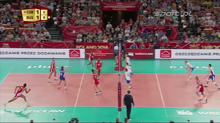 Kuba - Rosja 1:3. Skrót meczu