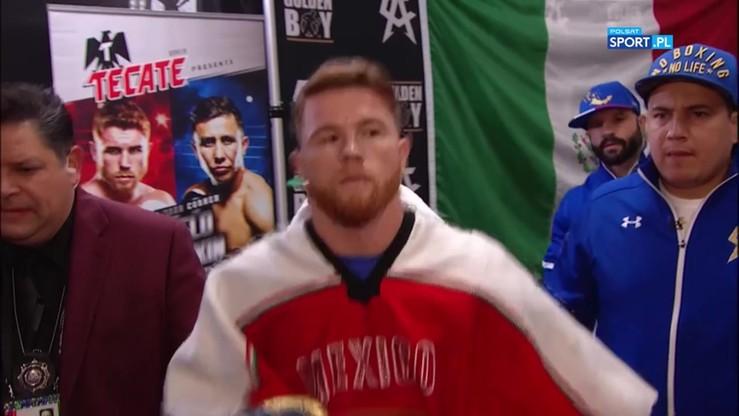 Wyjątkowe przywitanie Alvareza w Las Vegas przed walką z Gołowkinem