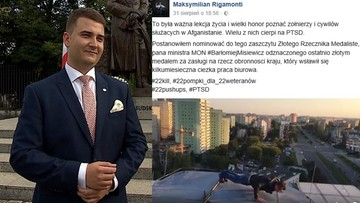03-09-2016 19:05 22 pompki w wykonaniu rzecznika MON? Znany fotoreporter wyzwał na pojedynek Bartłomieja Misiewicza