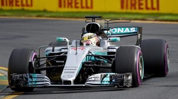 2017-03-24 Hamilton pierwszy na treningach przed GP Australii