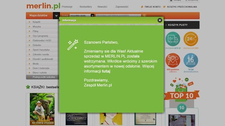 Sprzedaż w Merlin.pl wstrzymana. Będą zwolnienia ponad 100 pracowników