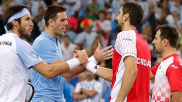 2016-11-26 Puchar Davisa: Chorwacja prowadzi z Argentyną 2:1 w finale w Zagrzebiu