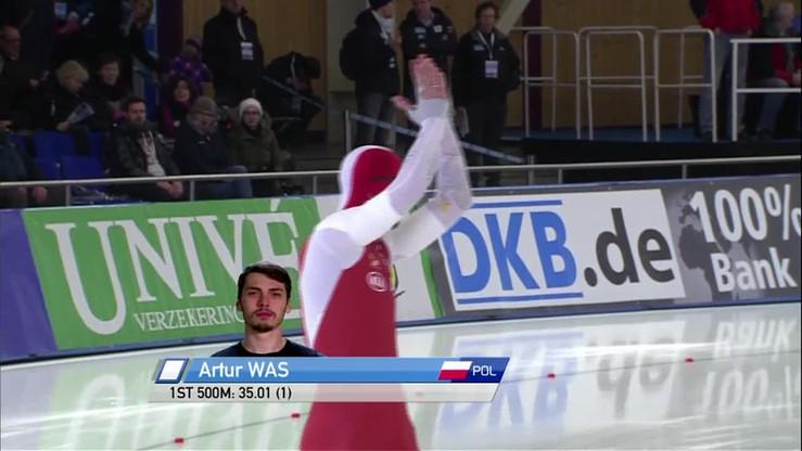 Dominacja Wasia. Polak znów najlepszy na 500 m!