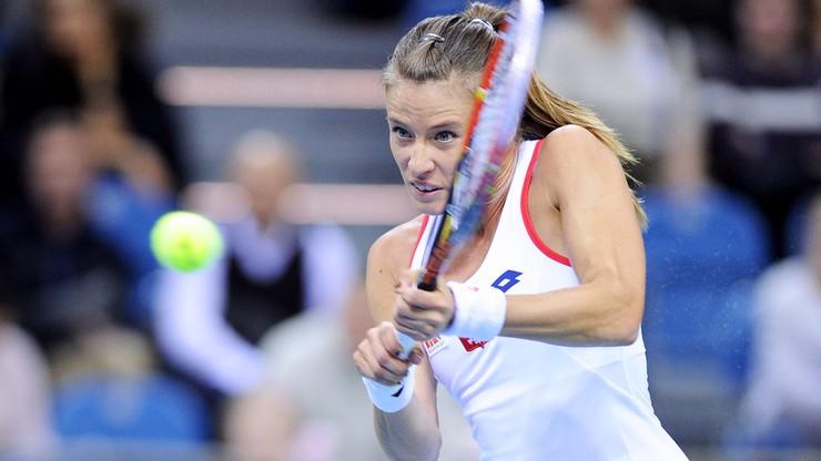 Turniej WTA w Moskwie: Rosolska odpadła w I rundzie debla