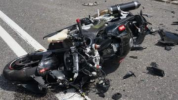 Zginął motocyklista - czwarty od początku lipca w woj. śląskim