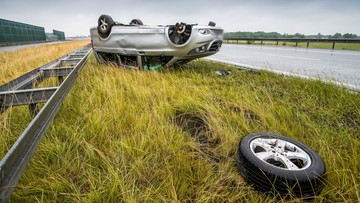 """20-06-2016 12:53 Skaldowie mieli wypadek na A1. """"Wszyscy podróżujący busem trafili do szpitala"""""""