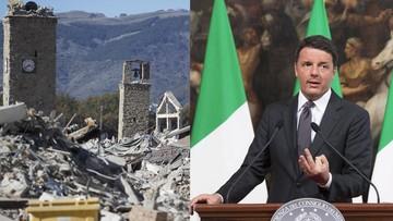 30-10-2016 14:14 Premier Włoch po trzęsieniu ziemi: odbudujemy wszystko
