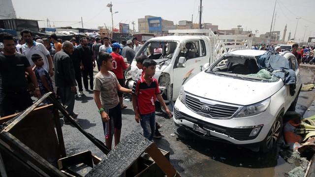 Irak: seria zamachów bombowych w Bagdadzie, co najmniej 93 zabitych
