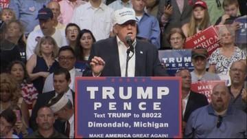 20-08-2016 15:27 Trump do Afroamerykanów: Clinton da pracę uchodźcom, nie wam