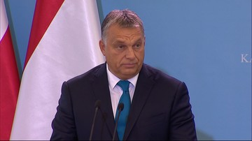 """""""To wygląda jak jakaś inkwizycja"""". Orban o zarzutach wobec Polski"""
