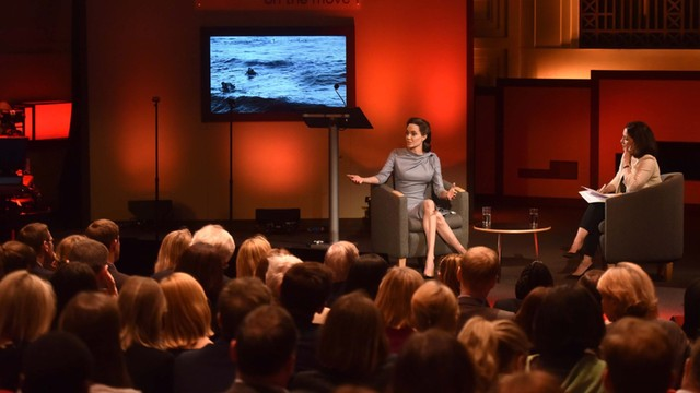 Angelina Jolie apeluje o pomoc dla uchodźców