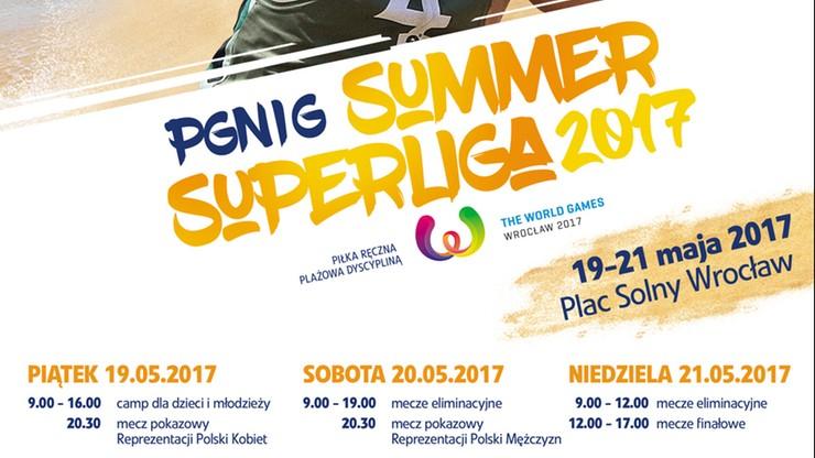 Turniej PGNiG Summer Superliga na wrocławskim placu Solnym