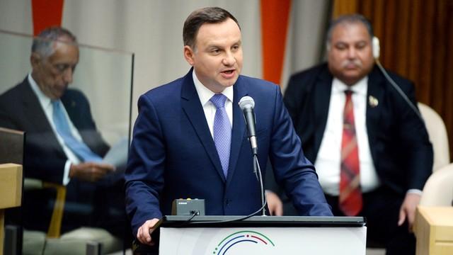 Prezydent: Bezpieczeństwo to ważny element współpracy Polski i USA