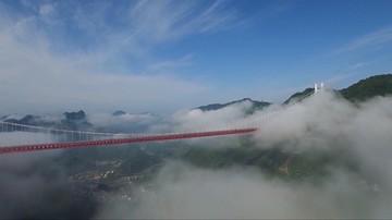 Most w chmurach. Ułatwia życie mieszkańcom i zachwyca turystów