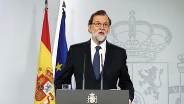 """01-10-2017 22:49 Ponad 840 osób poszkodowanych w Katalonii. Premier Hiszpanii mówi, że """"referendum niepodległościowego nie było"""""""