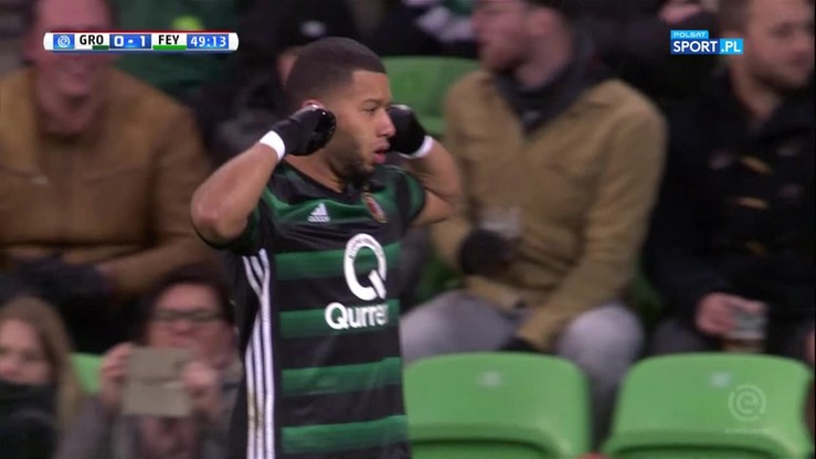 Dobitka i gol! Vilhena uciszył kibiców Groningen