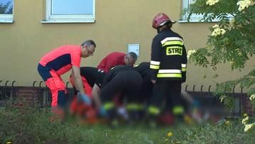18-05-2017 13:06 Przesłuchiwany mężczyzna wyskoczył z okna prokuratury. To ojciec dwojga zamordowanych dzieci