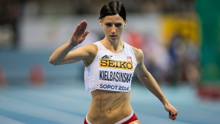 Anna Kiełbasińska w półfinale biegu na 200 m
