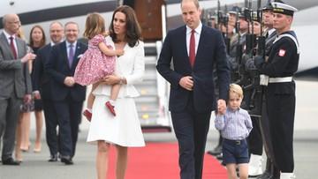 """18-07-2017 12:09 """"Jego Królewska Nieśmiałość"""". Brytyjska prasa głównie o dzieciach podczas wizyty książęcej pary w Polsce"""