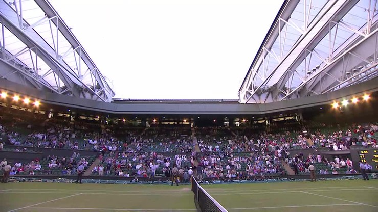 Zasuwamy dach na Wimbledonie!