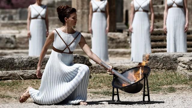 Dziś wzniecenie ognia olimpijskiego w Grecji