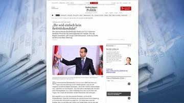 """27-07-2017 10:44 Kanclerz Austrii grozi Polsce obcięciem funduszy unijnych. """"Kto nie przestrzega reguł, ten nie może dostawać 14 mld"""""""