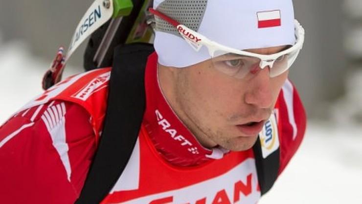 PŚ w biathlonie: Pierwsze punkty Guzika