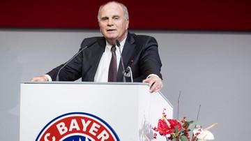 2016-11-26 Uli Hoeness ponownie prezesem Bayernu Monachium