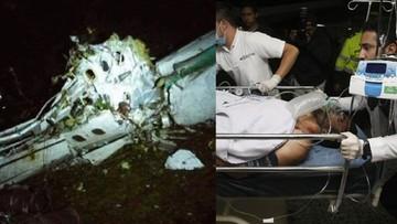 29-11-2016 12:08 Pięć osób, w tym trzech piłkarzy, przeżyło katastrofę samolotu
