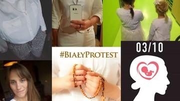 """03-10-2016 12:56 """"Biały protest"""" w kontrze do """"czarnego"""" strajku kobiet"""
