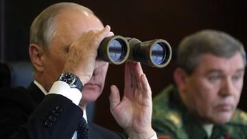 18-09-2017 20:47 Putin obserwował główny etap manewrów Zapad-2017