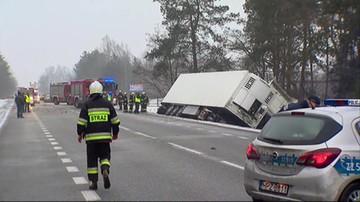 Wypadek na Mazowszu. Zginęła jedna osoba