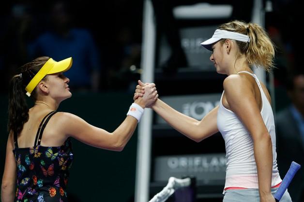 Radwańska drugi raz w karierze zagra w półfinale WTA  Finals