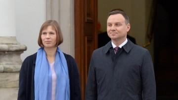 03-11-2016 10:50 Duda: trzeba intensyfikować współpracę z Estonią