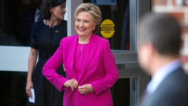 USA: niewielka przewaga Clinton w sondażach