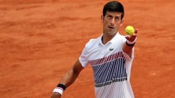 2017-05-29 French Open: Broniący tytułu Djokovic awansował do drugiej rundy