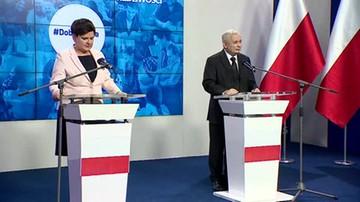 Prezes PiS na wspólnej konferencji z premier: potrzebna jest przebudowa państwa, to jednak wymaga więcej niż jednej kadencji