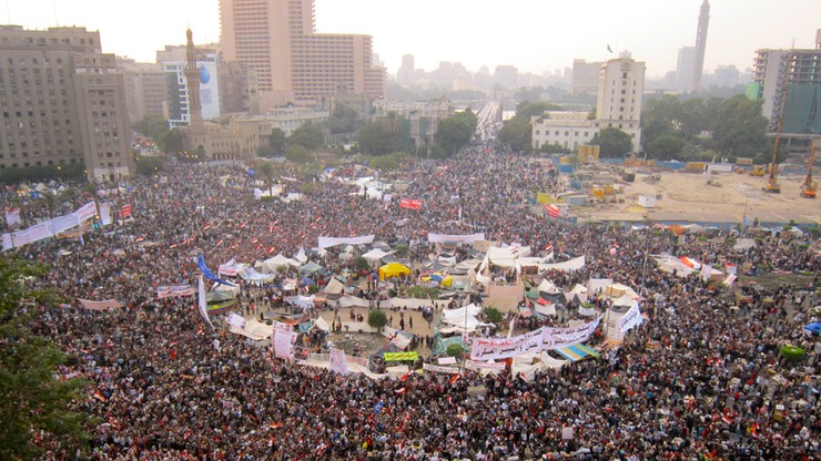 """""""Pierwszy raz od 2011 roku"""". Egipski policjant skazany za zabicie demonstrantki"""