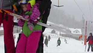 Beskid Śląski: tradycyjnie Biały Krzyż otworzył sezon narciarski