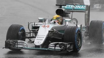 2016-11-13 GP Brazylii: Hamilton wygrał wyścig na wodzie. Walka o mistrzostwo świata trwa!